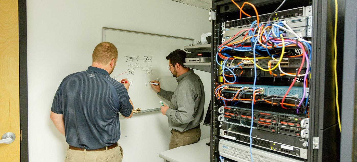 Cybersecurity Gaps | Server Room