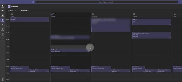 Tim Teams Interface Blog_Calendar screen 2 JPG