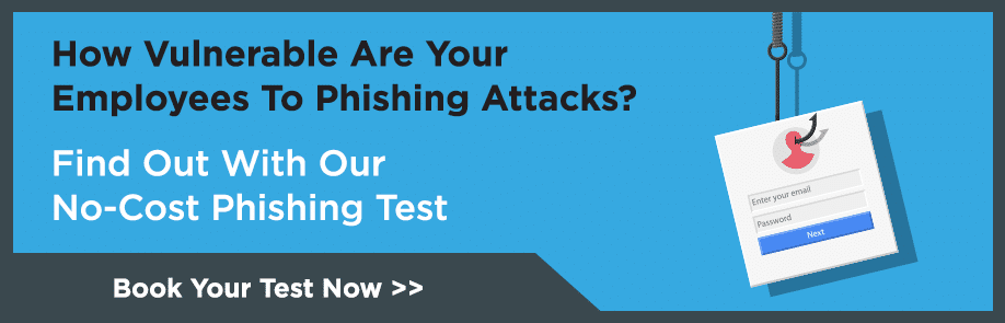 Simulated Phishing Test CTA
