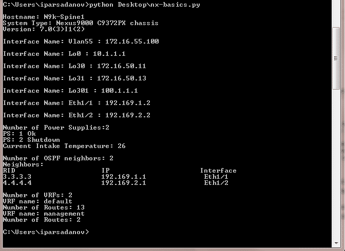 Cisco Nexus 9000 Automation, Part 2