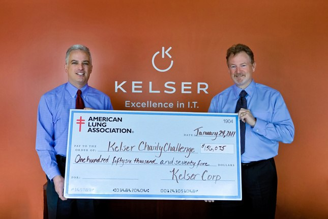 Press Release: Kelser Over a Decade Strong in Lung Health Support