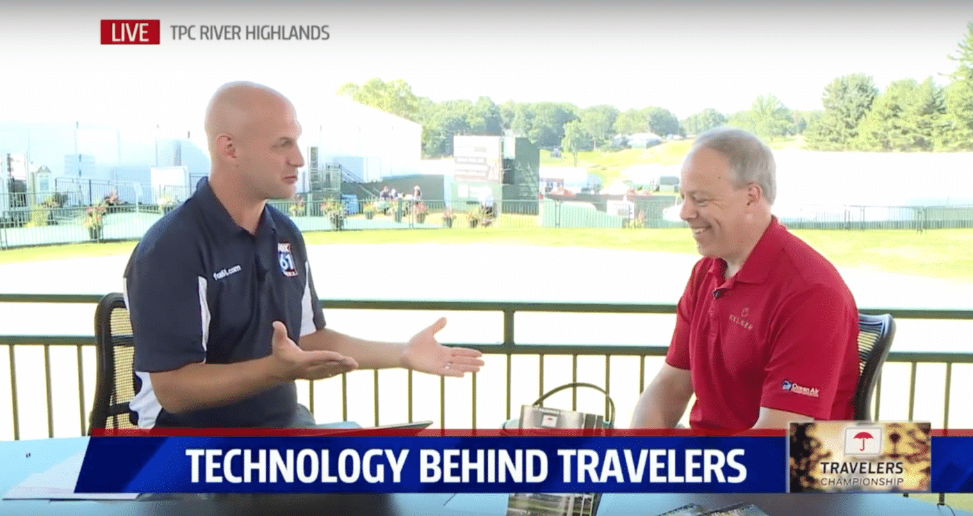 Kelser's Work with the Travelers Championship highlighted by Fox 61