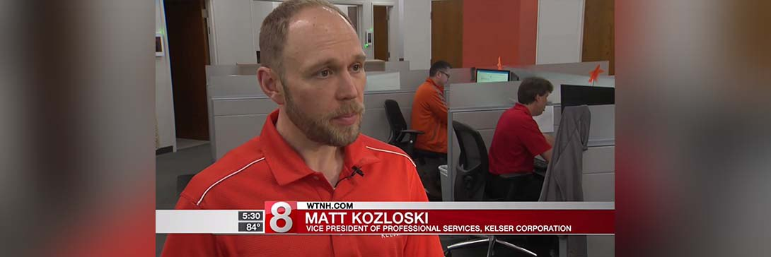 WTNH News 8 Documents Kelser Cybersecurity Exercise with Hoffman Auto Group